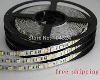 Free Shipping LED strip 5050 SMD 12V flexible light 60LED/m,5m 300LED