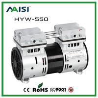 (HYW-550) 110V /220V (AC) 67L/MIN 550 W medical piston compressor pump