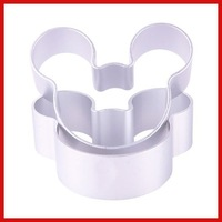 ChinaStock 1 5 pcs Mickey Shaped Mold Cookie Dessert Cake Decorating Metal Tin Baking Craft Mould Save up to 50%