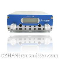 FMUSER FU-15A 15W V1.0 FM stereo PLL broadcast transmitter 87.5-108MHZ