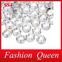Crystal Clear Rhinestone Nail Art Decorations,ss4 Top Quality Flatback Non Hotfix Swarovski Clothing Nail Jewelry Accessories