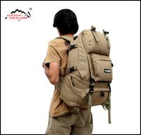 Men travel bags MILITARY Backpack Waterproof shoulder bags Camping bag Large capacity Hiking Mountaineering bag tactical wenger
