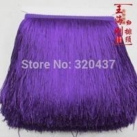 15cm Polyester Fringe Tassel 15 colors latin dress decoration