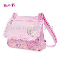 Orginal Brand Barbie Messenger Bags Bag handbag Children School Bags kids fashion special purpose bags Free Shipping
