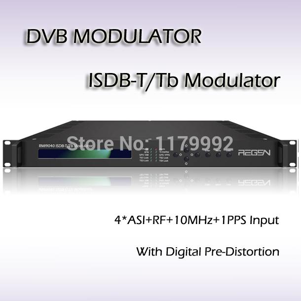 Terrestrial Digital TV ISDB-T/Tb Modulator RMI9040 Free Shipping(China (Mainland))