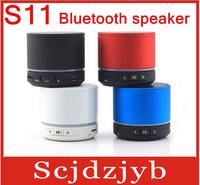 5PCS/LOT Free shipping S11 bluetooth speaker wireless portable speaker mini speaker support TF card subwoofer