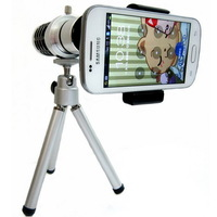 Universal 12x Zoom Optical Mobile Telephoto Lens + Tripod For All Mobile Phone