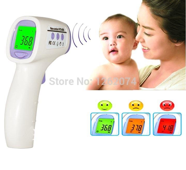 Versandkostenfrei!! Neues baby/Erwachsene digitalen multi- Funktion nicht- kontakt infrarot Stirn körper thermometer pistole x10062