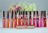 12PCs/Lot Wholesale Cheap MC Brand Makeup Lip Pigment, Limited Edition rihanna riri lipgloss, 12 different colors free shipping