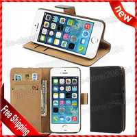 For iphone 6 4.7 Wallet Case, New High quality Wallet Case Genuine leather cover For apple iphone 6 4.7 By DHL shipping
