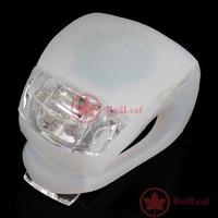 RedLeaf Silicone Bike Bicycle Rear Wheel LED Flash Light White Worldwide free shipping