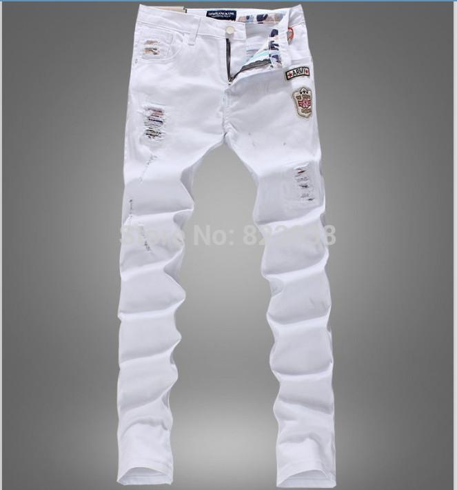 White Designer Jeans - Is Jeans