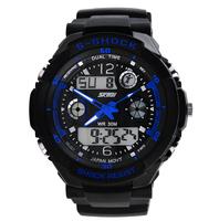 Skmei 0931 Men Sports Military Watches Hot sale Male Brand boys Fashion Casual Wristwatches Men's Digital Man Watch (blue)