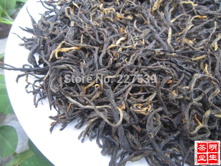 Wholesale Yunnan fengqing Dian hong tea classic 58 Large Congou black tea Maofeng tea 200g free