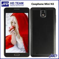 Coophone Mini N3 Mini MTK6582 Quad Core 1.3GHz 5.0 Inch HD Screen Android 4.2 1G RAM 4G ROM Smartphone 8.0MP OTG Cell phone