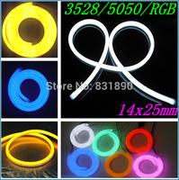 Custom-made Led neon tube decoration lantern flexible neon light SMD3528/80 5050/60LEDs Patch14x25mm LED strip soft tube lights