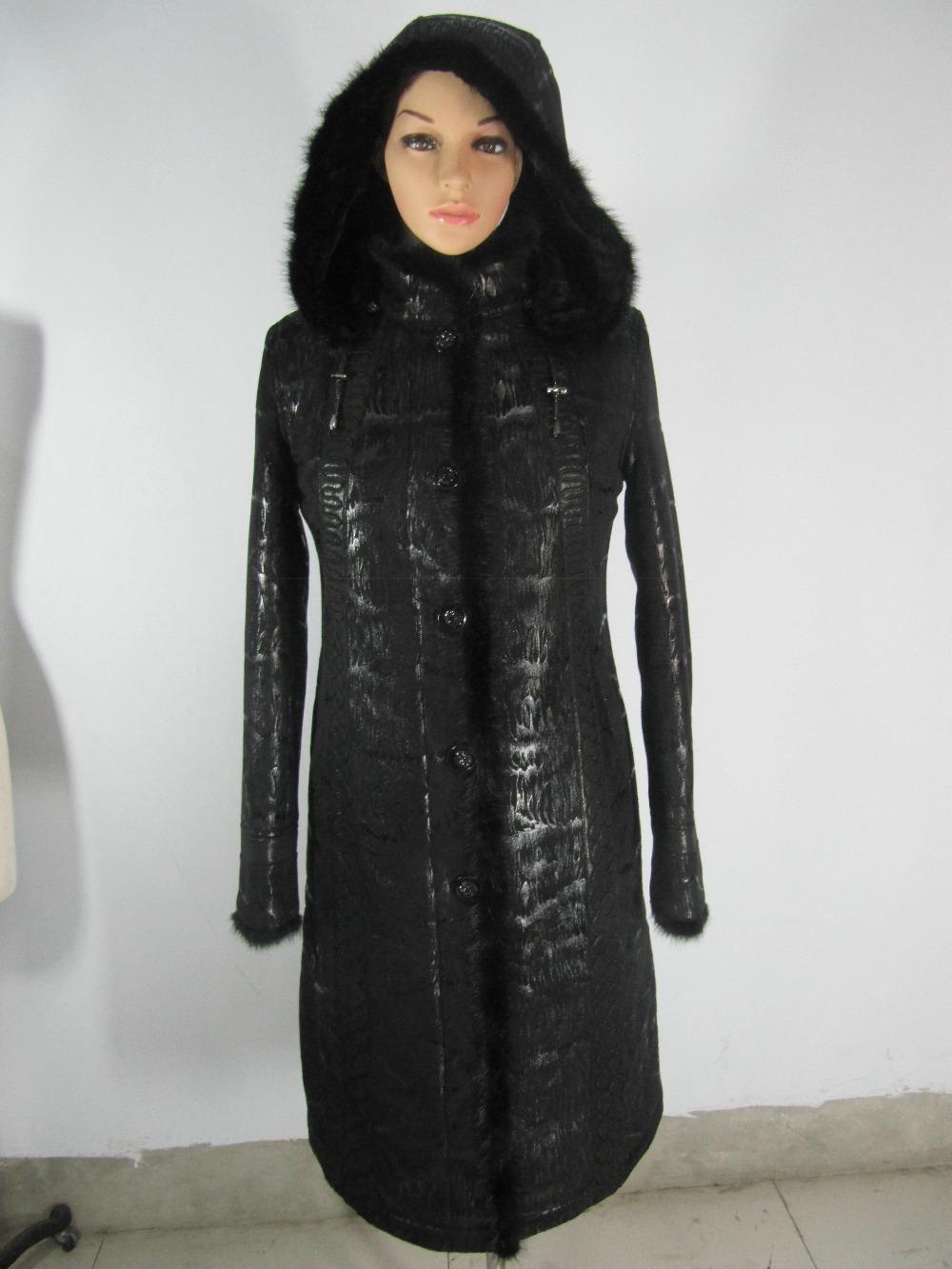 fur coats detachable cap2014 new autumn and winter women's fur coat jacket plus fertilizer really mink collar paragraph shipping(China (Mainland))