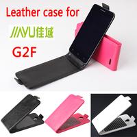 Jiayu G2F Case cover  Good Quality Top Open PU Flip case cover for Jiayu G2F cellphone free shipping