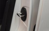 Free Shipping Car Door Lock Cover For Volkswagen VW  POLO JETTA MAGOTAN CC GOLF Skoda  Passat  Lavida Sagitar Bora  4 pieces/set