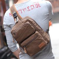 new arrival men's backpacks Korean casual men's chest bag fashion shoulder Messenger cross bag