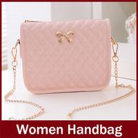 new hot women bag 2014 cute women leather handbags fashion women handbag simple women messenger bags free shipping