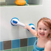 1PCS Suction Cup Safety Tub Bath Bathroom Shower Tub Grip Portable Grab Bar Handle (BLUE)