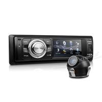 "3"" Digital Touch Screen 1 Din Car DVD One Din Car Audio Single Din Car Radio Detachable Panel with 1 Piece Universal Rear Camera"