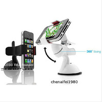 Phone Car Windshield Bracket Desk Holder For Nexus 4 5 E980 Holders for iPhone 4 4s 5 Galaxy S3 S4 s5 Note 2 3 5s 5c lenovo