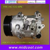 HIGH QUALITY TSE14C  A/C Compressor FOR  toyota camry RAV4 YEAR 2009-2013 OEM 471-1018, 88310-0R012 88310-0R013