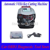 Newest Automatic V8/X6 Key Cutting Machine X6 Car Key Cutting Machine V8 Auto Key Programmer