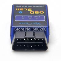 Free shipping Mini ELM327 V1.5 Bluetooth OBD2 Car Auto Diagnostic Scanner Tool Adapter