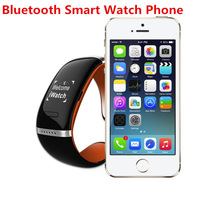 2014 New Product brand Bluetooth Smart Bracelet Wrist OLED digital Watch MP3 for IOS iphone samsung android smart phone