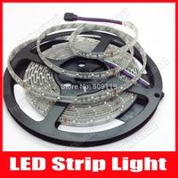 IP65 Waterproof 5M 3528 LED Strip Light 300 LED DC 12V Cool/Warm White/Blue/Yellow/Red/Green/RGB LED tape ribbon