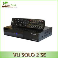 Vu Solo 2 SE Linux Reciever Vu Solo2 SE Twin Tuner Decoder 1300 MHz CPU digital satellite tv recever 2 dvb-s2 Tuner STB
