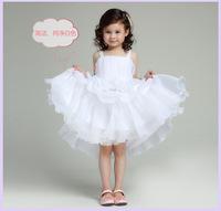 Free shipping 2014 Children's party dress girl wedding flower girls dresses for weddings