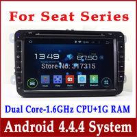 Android 4.2 Car DVD Player for Seat Altea Altea XL Leon Toledo w/ GPS Navigation Radio BT USB MP3 AUX DVR 3G WIFI Tape Recorder