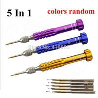 New arrive 1 set 5 in 1 Multi-function screwdriver set ,apart repair tools set for phone mobile ,Free shipping