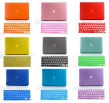 "freeship Christmas gift clear crystal Rubberized Crystal Matte Surface hard cover case for 11"" 13"" 15"" macbook air pro retina(China (Mainland))"