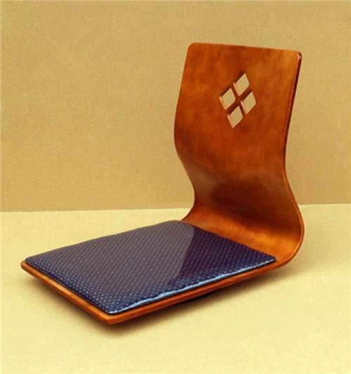 (2pcs/lot) Floor Tatami Zaisu Chair 360 Degree Swivel Design Oriental Furniture Cherry Living Room Floor Tatami Zaisu Chair(China (Mainland))
