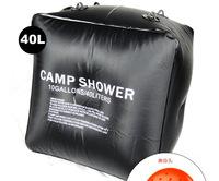 Portable 40L Outdoor Solar heat Camping Shower Bag Solar Shower Water bag