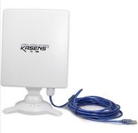 Kasens N9600 High Power USB WIFI Adapter Network Card Wi-FI 80dbi Antenna 6600MW 150Mbps WIFI Antenna Wholesale Free Shipping