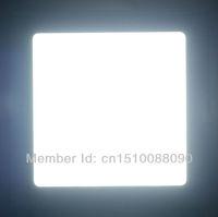 9W square led panel light Free shipping DHL/FEDEX 10pcs/lot new Ultra thin Downlight L145*W145mm AC90-250V
