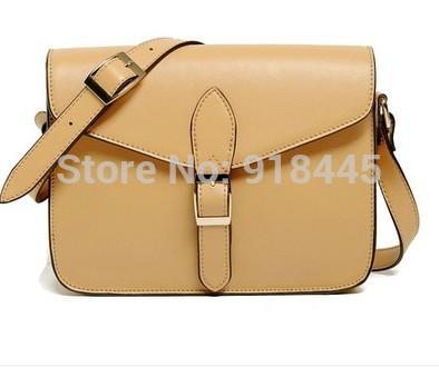 preppy style 2014 HOT women's designer handbag fashion stamp messenger bag vintage brand shoulder bag PU leather envelope bags(China (Mainland))