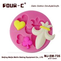 Silicone gum paste design molds,fondant cake art molds,flower fondant mold,silicone decarating tools