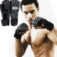 New 1 Pair MMA boxing gloves extension wrist leather MMA half fighting Boxing Gloves/Competition Training Gloves B11 SV003467