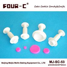 Cortadores fondant émbolo / pastelería redondas , herramientas de la pasta de azúcar de alta calidad(China (Mainland))