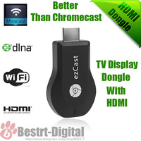 1080P ezCast Wireless HDMI DLNA Wifi Display Dongle Receiver Miracast Airplay Android PC LCD TV With Retail Package Free Shippin