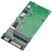 "New Emgeast mSATA SSD to 2.5"" SATA Disk Adapter with USB Interface P0013784 Free Shipping"
