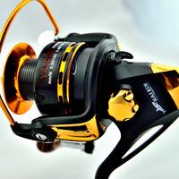 Free shipping  5000  wheel 12+1BB shaft spinning wheel 5.5 : 1 speed fish fishing reel wheel fishing