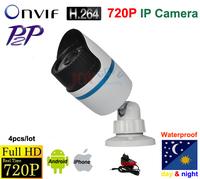 Mini IP Camera 720P Security  HD Network CCTV Camera Mega pixel Outdoor Network IP Camera ONVIF H.264 free shipping